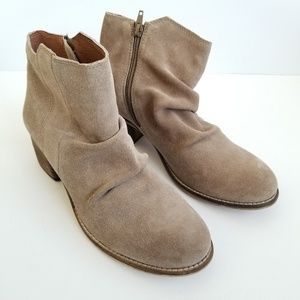 Seychelles Tan Leather Upper Heeled Ankle Boot 264